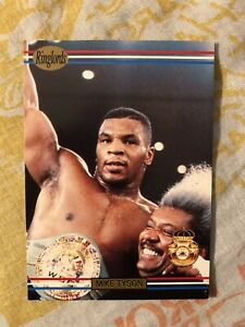 1991 Ringlords Boxing Sample Promo Card Mike Tyson World Champion