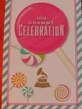 2016 GRAMMY AWARDS CELEBRATION PARTY PROGRAM CARD  ALOE BLACC THELMA HOUSTON
