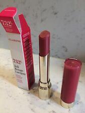 CLARINS Lipstick ~ Joli Rouge Lacquer 732L - Grenadine