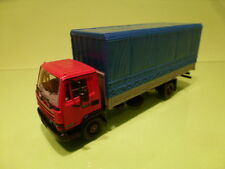 AHC MODELS PILEN DAF 800 TRUCK - RED + BLUE 1:50 - VERY GOOD CONDITION
