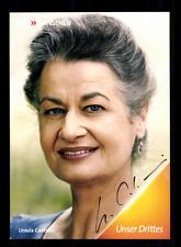 Ursula Cantieni Die Fallers Autogrammkarte Original Signiert# BC 100120