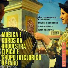 "7"" musica e Coros poiché Orquestra Tipica e Grupo folclorico de FARO Belter e 1967"