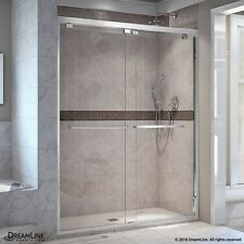 "DREAMLINE ENCORE 44""-48"" X 76"" BYPASS SLIDING SHOWER DOOR, 5/16"" CLEAR GLASS"