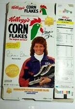 BONNIE BLAIR SIGNED Corn Flakes CEREAL BOX Autograph Olympics Auto