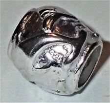 0.925 Sterling Silver Bead ADD TO EUROPEAN STYLE & PANDORA BRACELETS 1.3 Grams