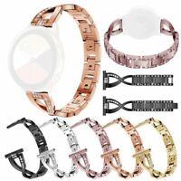 20 22mm Women Rhinestone Diamond Strap For Fossil Q Watch Smartwatch Band