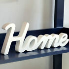 Simple Elegant Designed Home Letters Party Wedding Decor Sign Prop Tool
