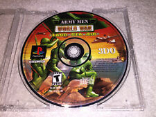 Army Men: World War -- Land, Sea, Air (PlayStation PS1) Game in Plain Case Nice!