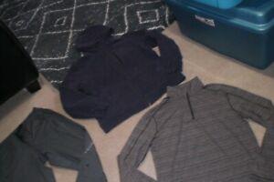 Lot of Mens Lululemon Joggers, Hoodie and Half Zip Sweater sz XL