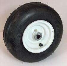 1 New 11x4.00-5 OTR Rib 4 Ply Tire & Rim Wheel lawn cart trailer A-12