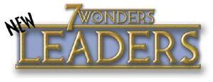 ●•• 7 Wonders ••● ✩ 26 fan-made Leaders ✩ NEU in bester Qualität! ✔ ツ