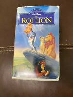 Walt Disney Le Roi Lion, The Lion King In French VHS