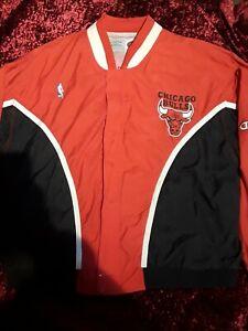 100% Authentic Bulls Champion Vintage Warm Up Jacket XXL - michael jordan jersey