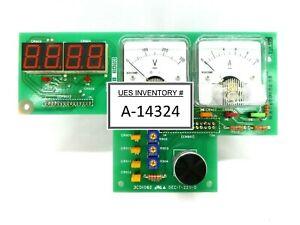 Hitachi Kokusai Denki 3CD1062 Voltage/Current Display PCB Mikro Sonic Working