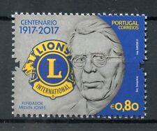 Portugal 2017 MNH Lions Club International 100 Years Melvin Jones 1v Set Stamps