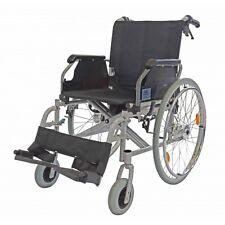 Rollstuhl + Trommelbremse / Reiserollstuhl / Transportrollstuhl / Sitzbreite: 48