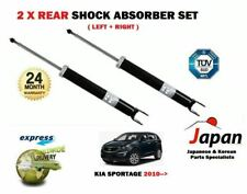 FOR KIA SPORTAGE GDI CVVT CRDI 2010->NEW 2 X REAR LEFT RIGHT SHOCK ABSORBER SET