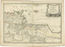Antique Map of Northern Africa by Sanson (1655)