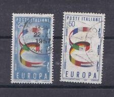 Italia Repubblica  1957 Europa 817-18 usato