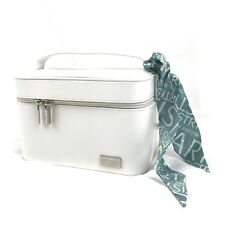 Artistry Women's Amway White Makeup Leather Bag Case Cosmetic And Sample Creams