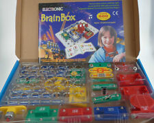 BRAINBOX 500 ELECTRONIC KIT  EXPERIMENTS 5+ EDUCATIONAL RADIO SENSORS LIGHTS +
