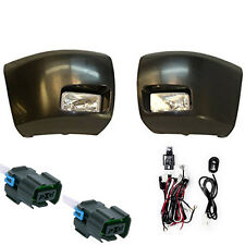 BUMPER ENDS W/FOG Lights fit 07-13  CHEVY C1500 + FULL Wiring Kit, Ship same day