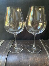 RIEDEL Vinum New World  Pinot Noir Wine Glasses, Set of 2 Gently Used BEAUTIFUL