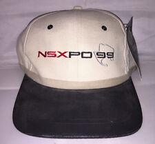Vtg Acura NSXPO NSX adjustable hat cap Honda supercar Vtec NWT deadstock og