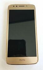 Moto E4 Verizon Android Smart Phone (Gold) Unlocked