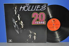 The Hollies 20 Years D Polydor VG++/M- ! Vinyl LP clean sauber plays perfect!