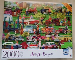 Joseph Burgess 2000 piece puzzle, poster included, NIB sealed Antique Car Show