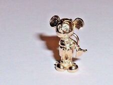 14k YELLOW GOLD 3D DISNEY MICKEY MOUSE PENDANT CHARM