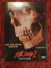Evil Dead 2: Dead by Dawn Anchor Bay Dvd Insert Oop Horror Cassic