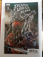 Silver Surfer Black #1 Knull Cover 2nd Print