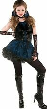 Midnight Vamp 5 Pc Costume Junior Small 3 - 5 Sexy