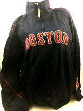 Boston Red Socks Mens Jacket Dugout Lined Coat Majestic Authentic Baseball 2XL