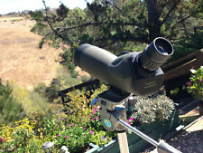 BARSKA 20-60X60 BLACKHAWK SPOTTING SCOPE WITH TRIPOD DAMAGED EYE PIECE WORKING