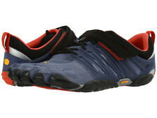 Vibram Five Fingers V Train Mens Footwear Barefoot Trainers - Indigo Black Blue UK 9
