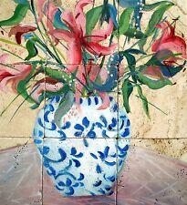 Marble Tile Mosaic Backsplashed Kitchen 18x18  Hand Painted # 800