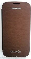 Samsung Galaxy S3 Flip cover - Original Authentic OEM BRAND NEW -Brown