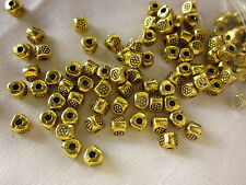50 Antique Gold 5x4mm Triangle Spacer Beads #sp233 Combine Post-See Listing