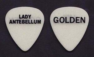 Lady Antebellum Glow Guitar Pick - 2014 Take Me Downtown Tour
