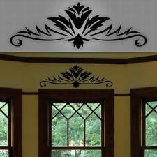 "Decorative Window Accent Decal, Door Accent Sticker, Wall Home Decor - 32"" x 12"""