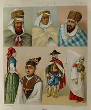 Algérie Alger arabes Berbère Kabyles Haik Bédouins