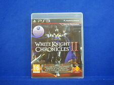 ps3 WHITE KNIGHT CHRONICLES II 2 Includes White Knight 1 - PAL UK VERSION