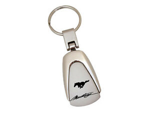 Mustang Running Horse Key Ring With Mustang Script 1965 1966 1967 2015 2016 2017