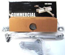 COMMERCIAL, DOOR CLOSER, SERIES 500, DC100137, 12543BC PA AL, SIZE 3