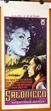 locandina film MADEMOISELLE DOCTEUR Louis Jouvet Viviane Romance Pabst 1953 SPIE