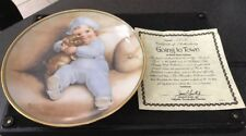 Hamilton Collection Bessie Pease Guttman Collector Plate Going To Town