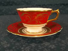Royal Crown Derby A1356 Regency New Tea Cup & Saucer